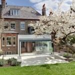 Pleasing Cherry Blossom Wall Decal For Nursery Exterior Contemporary With London Architect And Indoor-outdoor Living Central London Cherry Blossom