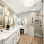 Pretty Shower Curtains Pottery Barn Bathroom Transitional With Double Sinks And Brushed Nickel Bathroom Chandelier Brushed Nickel Double Sinks Drum