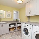 Wonderful Lowes Laundry Room Storage Cabinets Laundry Room Transitional With Front Loading Washer And Dryer And Yellow Laundry Room Cabinets In