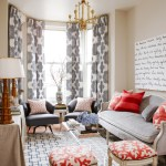 Fabulous Blue White Striped Curtains Living Room Transitional With Red Accents And Living Room Bay Window Beige Table Cloth Blue And Red White