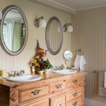Splendid Dresser Mirror Ideas Bathroom Farmhouse With Framed Mirrors And Double Vanity Double Vanity Drop Pulls Framed Mirrors Oval Towel Ring