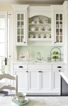 Splendid Glass Front Kitchen Cabinet Doors Kitchen Traditional with Architecture Cabinets Black Island Benjamin Moore Wood Molding Trend Design Color Block Shabby Chic White Dove Butlers