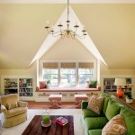 Pleasing Stair Storage Basket Family Room Traditional With Orange Lamp And Green Sofa Bookshelves Built In Storage Chandelier Decorative Pillows Green