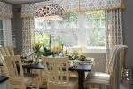 Fabulous Yellow and Gray Dining Room Traditional with Chairs Grey Painted Walls Yellow& Window Treatments Black Dining Table & Kitchen Mixing Patterns Trandsitional