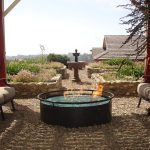 Impressive Fire Pit Accessories Landscape Mediterranean With Fire Glass And Flower Bed Fire Glass