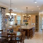 Pleasing Kitchen Drapes Pictures Kitchen Traditional With Island Lighting And Black And White