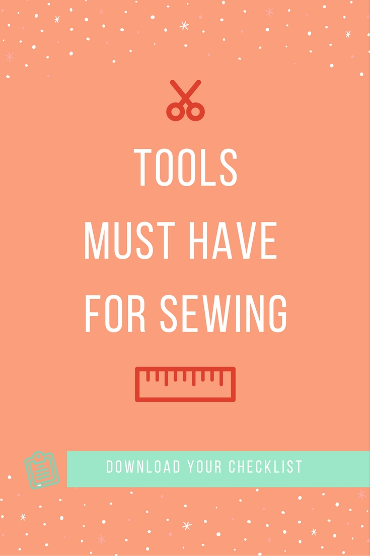 tool you need to start sewing