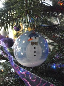 My snowmen.