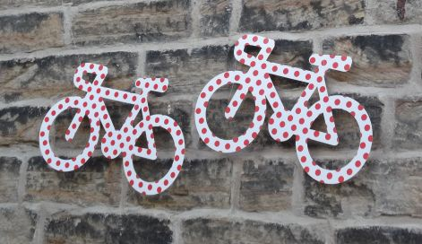 Tour de France decorations.