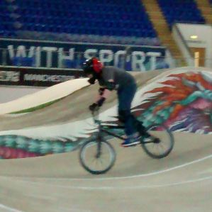 BMX at the Velodrome.