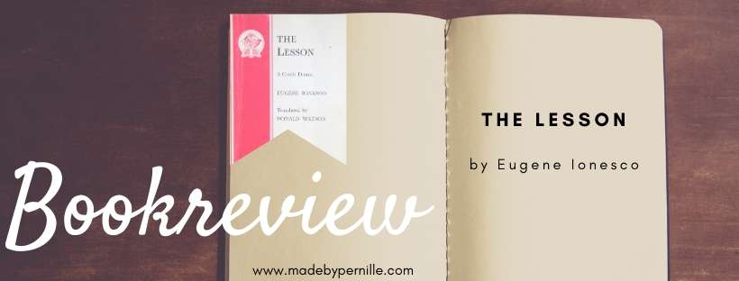 Book review of the lesson by eugene ionesco