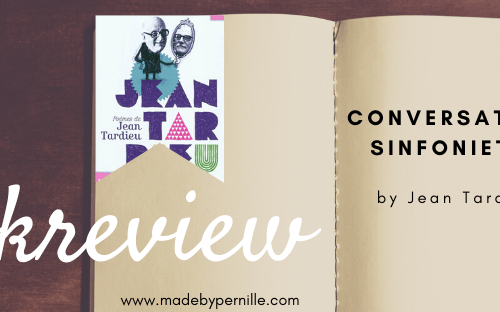Book review conversation sinfonietta by Jean Tardieu