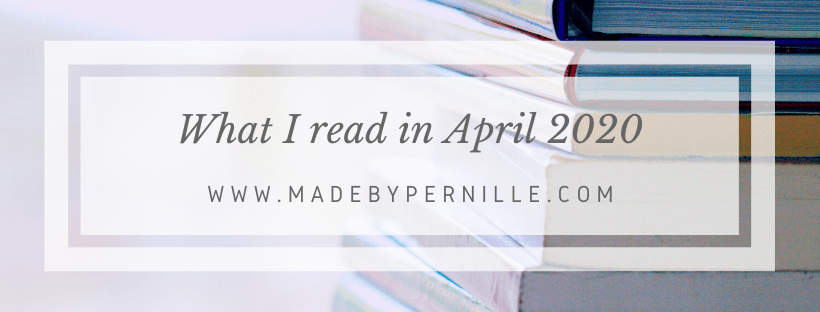 Books I read in April 2020