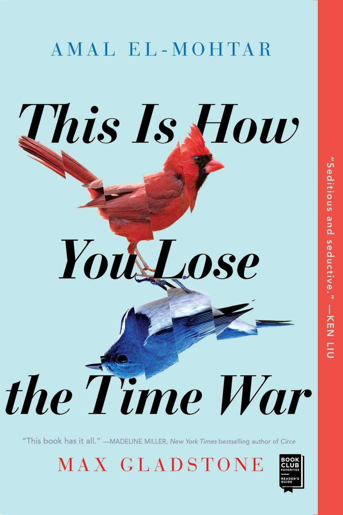 Cover Book review This is how you lose the time war
