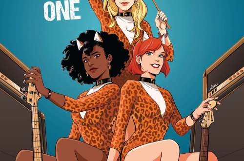 Cover Book review Book review Josie and the Pussycats volume one graphic novel
