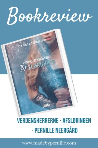 Bookreview - verdensherrerne 2 afsløringen af Pernille Neergård