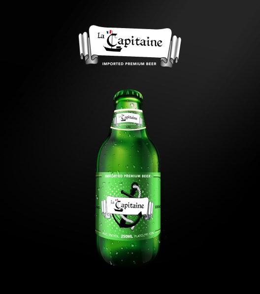 Logo + bottle illustration made with Adobe Illustrator and Adobe Photoshop