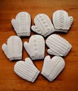 tradycyjne pierniczki miodowe - rękawiczki