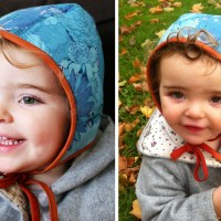 Three little bonnets (with tutorial)