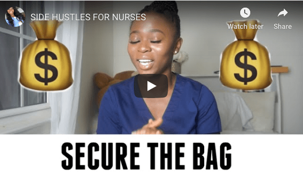SIDE HUSTLES FOR NURSES