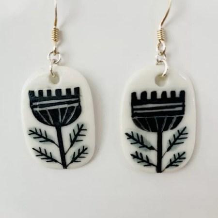 Karen Risby - Porcelain Earrings