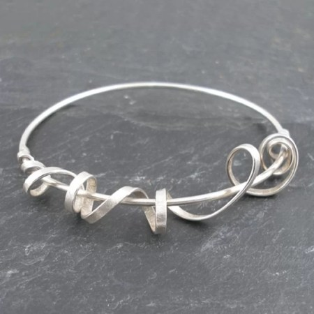 Frances Stunt - Silver Bangle