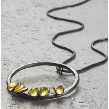 Jennifer Wall - Cluster round pendant