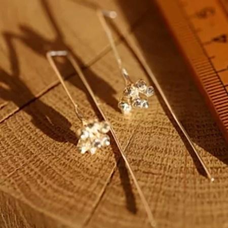 Su France - Eucalyptus seed earrings