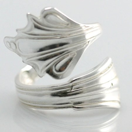 Annette Marshall - Fan spoon ring