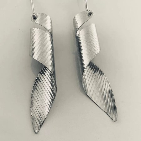 Emma Mogridge - Small Vortex Earrings