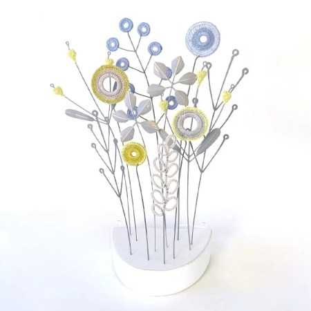 Liz Cooksey - Flowers Blue
