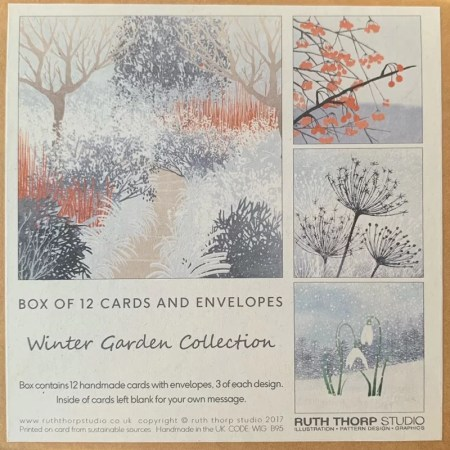 12 Card Pack -Winter Garden collection