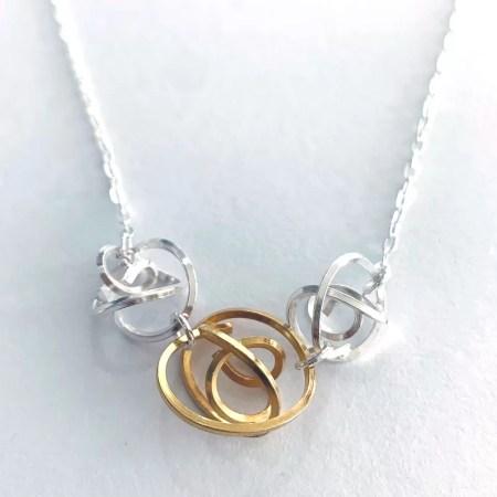 Victoria Johnson - three tangle pendant