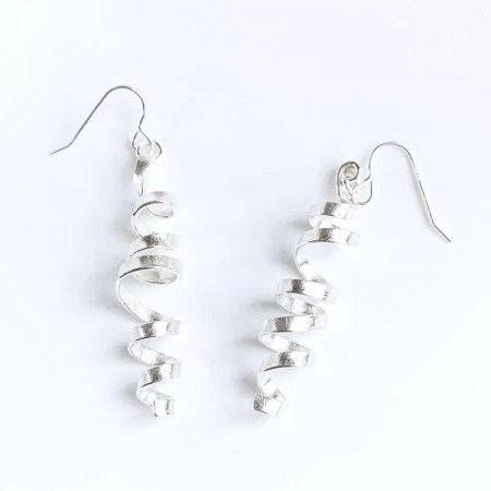 Frances Stunt - Spin drop earrings