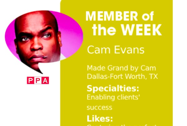 Cam Evans, MBA, Photographer, PPA Member of the Week