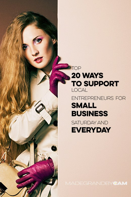 20 Ways To Support Small Business Everyday
