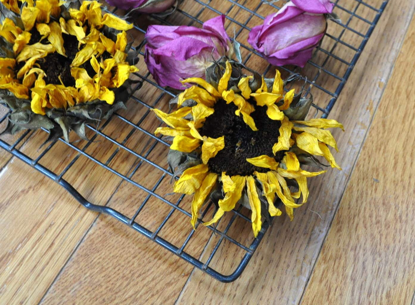 Oven Dried Flowers Made In A Day