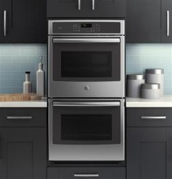 ge profile 27 double convection wall oven