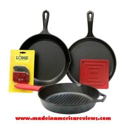 seasoned cast iron cookware