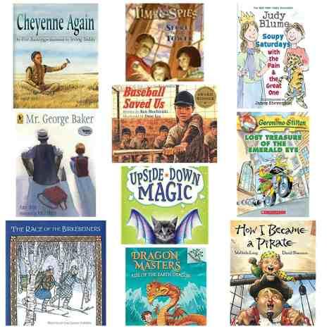 2nd grade reading list books