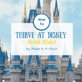 10 Simple and affordable tips for thriving at Disney World with kids!