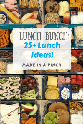 25+ Lunch Ideas