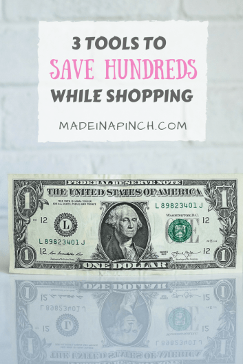 how to save money while shopping