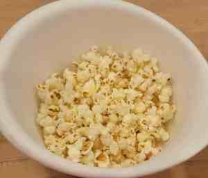 plain air popped popcorn