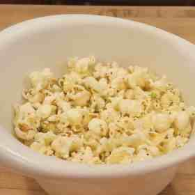 Why you need to make air popped popcorn today