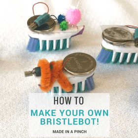 Build your own Bristlebot!