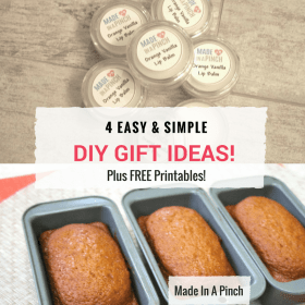 4 Easy and Quick to Make DIY Gift Ideas!