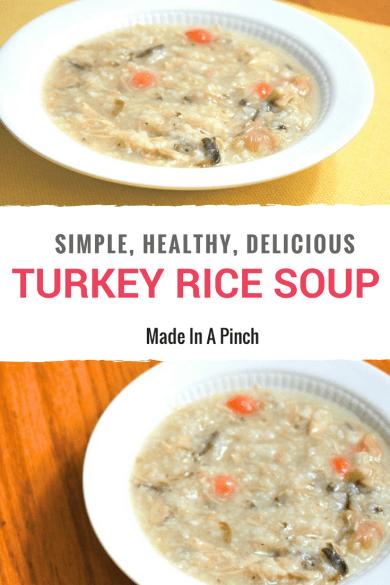 Turkey Rice Soup Graphic