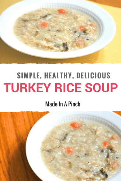 Turkey Rice Soup Graphic