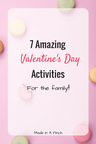 Valentine's Day Activities graphic